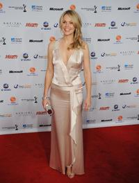 Andrea Roth at the 36th International Emmy Awards.