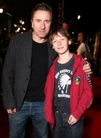 Tim Roth and his Son at the premiere of