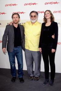 Tim Roth, director Francis Ford Coppola and Alexandra Maria Lara at the photocall of