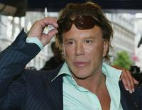 Mickey Rourke at the UK premiere of