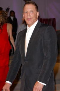 Mickey Rourke at the Vanity Fair Oscar Party.