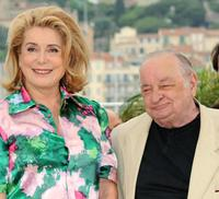 Catherine Deneuve and Jean-Paul Roussillon at the photocall of