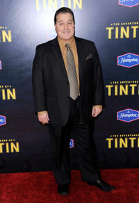 Joe Starr at the New York premiere of
