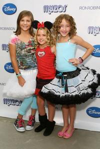 Savana Sterling, Emily Grace Reaves and Noah Cyrus at the Official Launch of New Disney & Muppet Myzos.