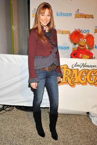 Molly Quinn at the Fraggle Rock event.