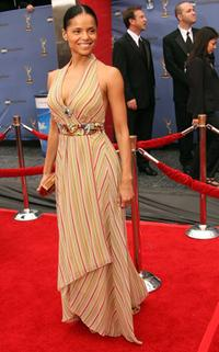 Victoria Rowell at the 33rd Annual Daytime Emmy Awards.
