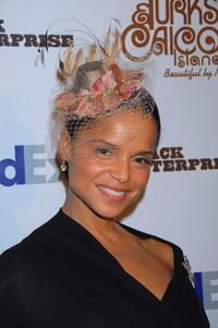 Victoria Rowell at the Black Enterprises Top 50 Hollywood Power Brokers Celebration.
