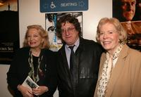 Gena Rowlands, Steve Ricci and Dorothea G. Petrie at the kick-off reception for Women In Film Foundation's