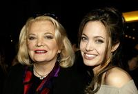 Gena Rowlands and Angelina Jolie at the world premiere of