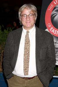 John Gould Rubin at the opening night party of the world premiere of