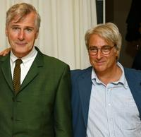 John Patrick Shanley and John Gould Rubin at the