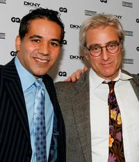 John Ortiz and John Gould Rubin at the Labyrinth Theater Company's 5th annual Celebrity Charades.