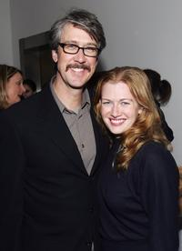 Alan Ruck and wife Claudia Stefany at the New York after party for the screening of