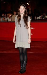 Astrid Berges-Frisbey at the 3rd Rome International Film Festival.