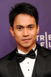Arnold Reyes at the New York premiere of