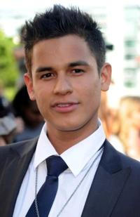 Bronson Pelletier at the premiere of