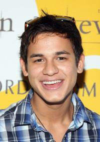 Bronson Pelletier at the