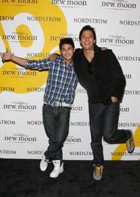 Bronson Pelletier and Chaske Spencer at the
