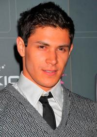 Alex Meraz at the T-Mobile Sidekick LX launch event.
