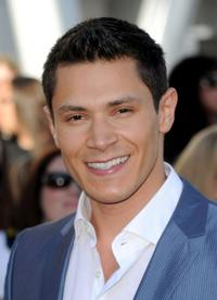 Alex Meraz at the premiere of