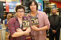 Tyson Houseman and Chaske Spencer at the DVD release of
