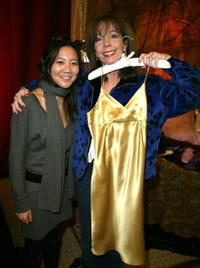 Rita Rudner and Guest at the Distinctive Assets gift lounge.