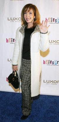 Rita Rudner at the opening night performance of the Broadway musical