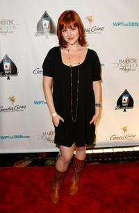 Sara Rue at the 6th Annual World Poker Tour Invitational Kick Off.