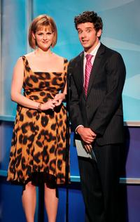Sara Rue and Michael Urie at the 21st Annual Genesis Awards.