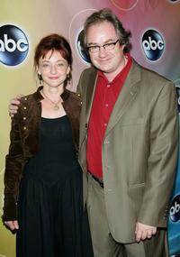 John Billingsley and his wife at the ABC Television Network Upfront.