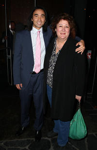 James Liao and Margo Martindale at the after party of the New York premiere of