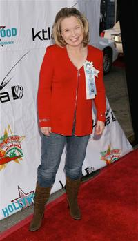 Debra Jo Rupp at the 2005 Hollywood Christmas Parade.