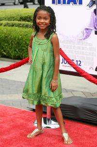 Yara Shahidi at the California premiere of