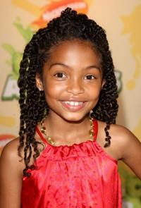 Yara Shahidi at the Nickelodeon's 2009 Kids Choice Awards.