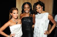 Adrienne Bailon, Catherine Brewton and LeToya Luckett at the BMI Urban Awards.