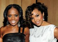 Catherine Brewton and LeToya Luckett at the BMI Urban Awards.
