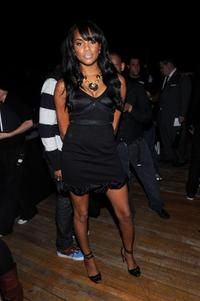 LeToya Luckett at the Baby Phat Spring 2009 fashion show during the Mercedes-Benz Fashion Week.