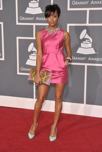 LeToya Luckett at the 51st Annual Grammy Awards.