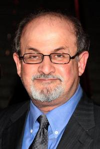 Salman Rushdie at the Vanity Fair party during the 2009 Tribeca Film Festival.