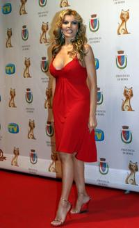 Rita Rusic at the TV, Sport, Cinema And Music Italian Awards.