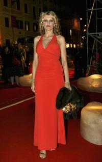 Rita Rusic at the Steps And Stars Awards during the Rome Film Festival.