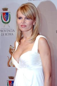 Rita Rusic at the Italian TV awards show