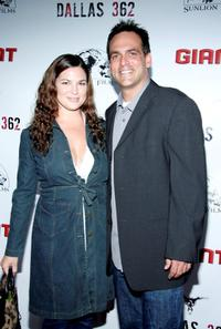 Robert Rusler and his wife Erin at the premiere of