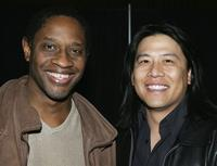 Tim Russ and Garrett Wang at the Grand Slam XIV: The Sci-Fi Summit.