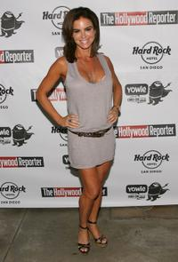 Betsy Russell at the Rock Star Suite party with The Hollywood Reporter and Yowie.com.