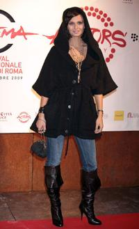 Anna Safroncik at the 4th International Rome Film Festival.
