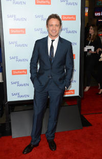 David Lyons at the California premiere of