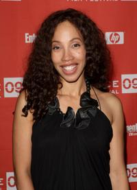 Kimberly Russell at the screening of