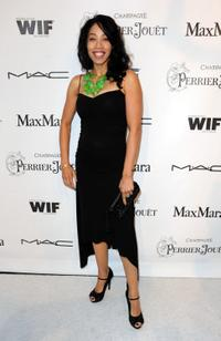 Kimberly Russell at the 3rd Annual Women In Film Pre-Oscar party.
