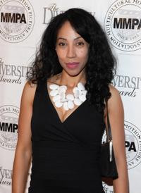 Kimberly Russell at the 17th Annual Multicultural Motion Picture Association student filmmaker Oscar luncheon.